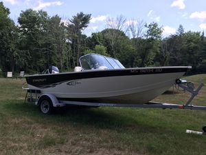 2003 Starcraft (like Lund) 16' Dual Console Boat, Motor & Trailer for Sale in Harvard, MA