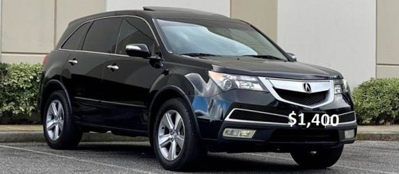 Low Miles/Low Price 2O12 Acura MDX 3.7L Automatic Nothing Wrong AWDWheels🍁wfeds for Sale in Cape Coral,  FL