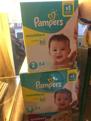 Cases of Pampers Sizes 2 for Sale in Virginia Beach, VA