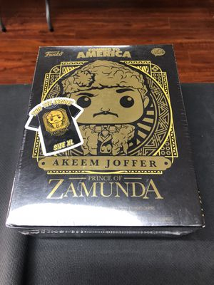 Akeem Joffer Prince Of Zamunda Coming to America Funko Pop Size XL for Sale in La Habra, CA