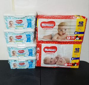Huggies Baby Bundle size 1 &2 for Sale in Suffolk, VA