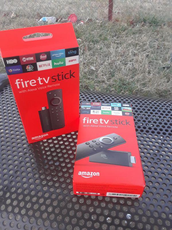 TWO Jailbroken Amazon Fire TV Sticks