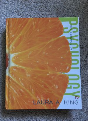 Psychology, Laura A.King for Sale in Rockville, MD