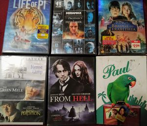 Random collection of 18 DVD movies for Sale in Peoria, IL