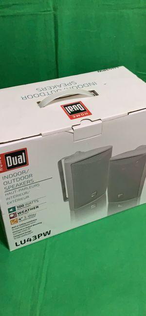 Outdoor Speakers Dual LU43PW pair indoor NIB for Sale in Franklin Lakes, NJ