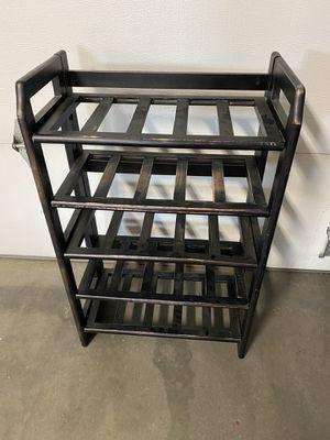 Shelf Shelves Wine Rack Plant Stand Black Furniture for Sale in Carmichael, CA