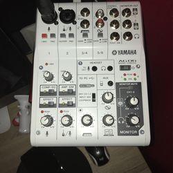 Yamaha AG06 Usb Studio Mixer  for Sale in Salinas, CA