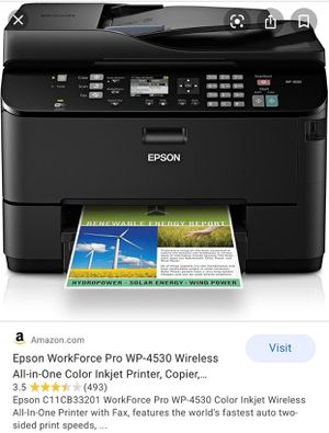Epson workforce pro printer for Sale in Allentown, PA