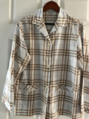 Burberry loungewear, NWOT, Women's L, blue for Sale in Raleigh, NC