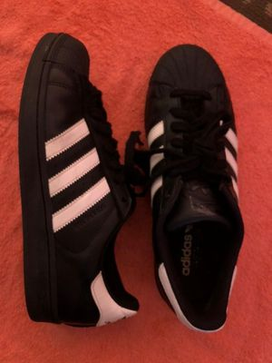 Adidas Original ShellToes ((Black And White))💯 for Sale in Dallas, TX