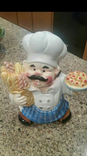 ADORABLE CHIEF COOKIE JAR JUST ADORABLE LIKE NEW for Sale in Tolleson, AZ