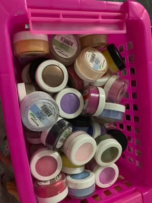 Reflections of hand and nail harmony colored powders for Sale in Lake Wales, FL