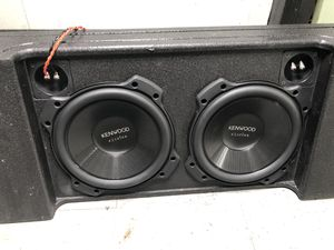 Kenwood Subwoofers & Rockford Amplifier for Sale in Grosse Ile Township, MI