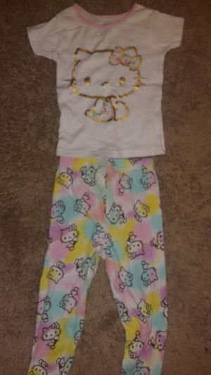 Cute Hello Kitty Pijamas Size 4 for Sale in Alexandria, VA