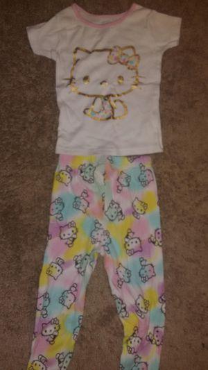 Cute Hello Kitty Pijamas Size 4 for Sale in Alexandria, VA