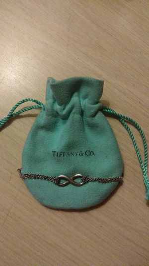 Tiffany & Co. Sterling Silver Infinity Necklace for Sale in San Diego, CA
