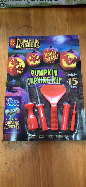 Pumpkin Carving Kit for Sale in College Park, MD