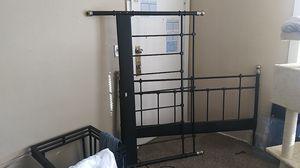 Ikea iron headboard/footboard for Sale in Kansas City, MO