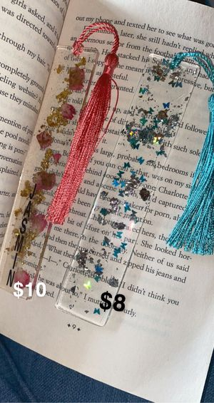 Resin bookmarks for Sale in Salinas, CA