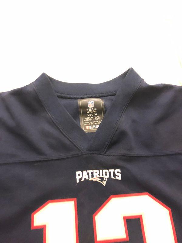 Youth medium patriots Tom Brady jersey