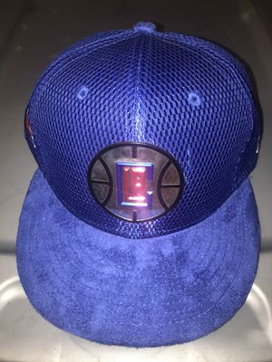 La clippers snap back hat suede bill for Sale in Colorado Springs, CO