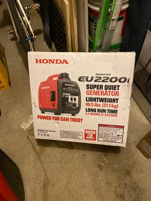 Honda super quiet generator for Sale in Brooklyn, NY