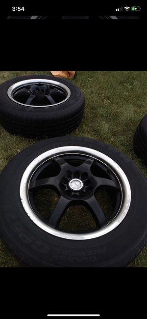 4 tires with rims for Sale in West Valley City, UT