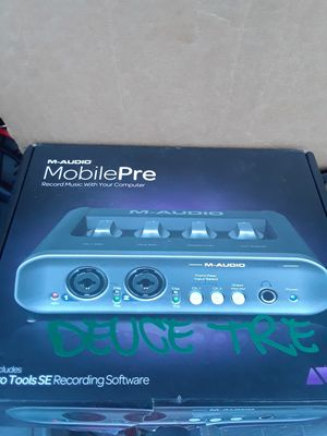 New Recording Studio M-Audio Pre Amp W/ Pro Tools SE Pc for Sale in Antioch, CA
