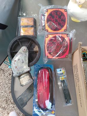 Trailer lights wheel cables etc for Sale in Hialeah, FL