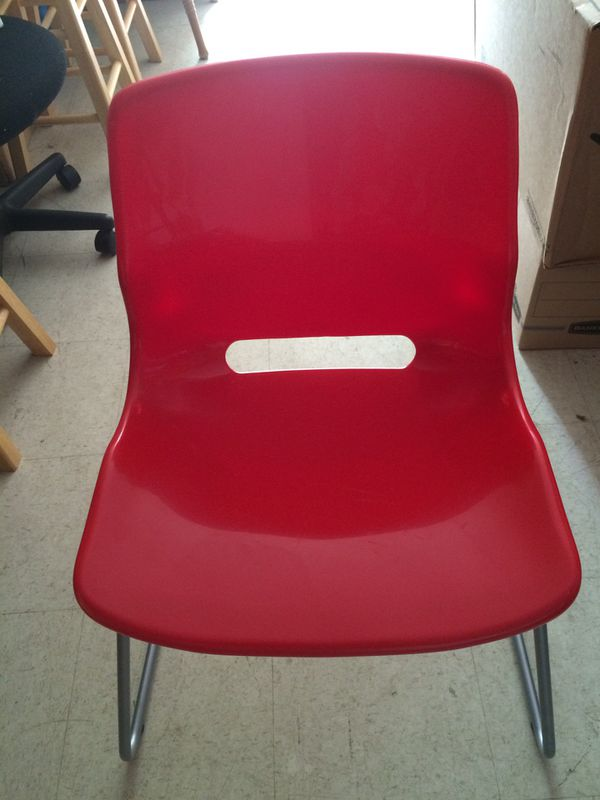 IKEA Snille ( Visitor chair) red