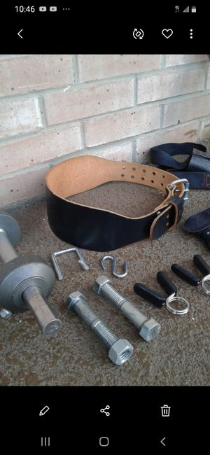 NICE WEIGHT EQUIPMENT / ACCESSORIES $50. for Sale in Dallas, TX