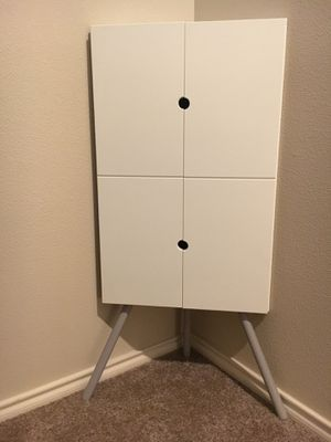 IKEA small white corner cabinet for Sale in Portland, OR
