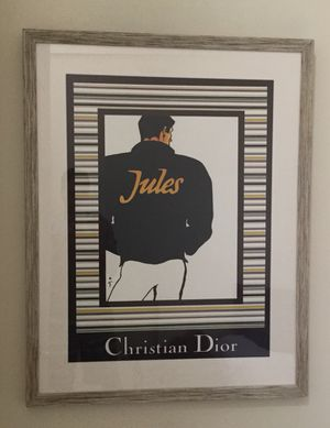 Christian Dior - Jules - Antique Poster Print for Sale in Seattle, WA