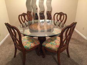 Antique wood dining set for Sale in Tampa, FL
