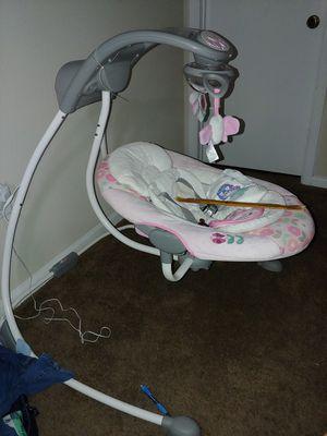 Ingenuity DreamComfort InLighten Cradling Swing for Sale in Austin, TX