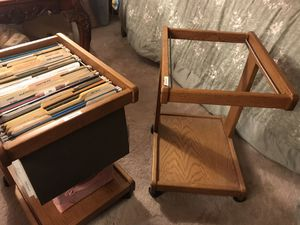 File carts that roll around wooden for Sale in Shreveport, LA