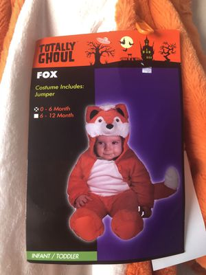 0-6 Months Halloween Costumes for Sale in Mansfield, TX
