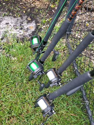 Fishing Trolling rods for Sale in Sunrise, FL