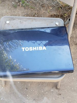 Toshiba laptop without the charger for Sale in Fresno, CA