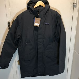 Patagonia City Storm Parka Men's Sz XL Down Jacket Forge Gray Style 27895 NWT for Sale in New York, NY