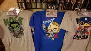 Marvel Avengers Endgame Size XL Target Exclusive Funko Tee & Pocket Pop for Sale in Newberg, OR