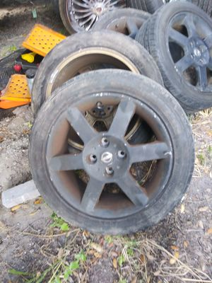 """4 x 114.3 rims and tires good 17"""" for Sale in Orlando, FL"""
