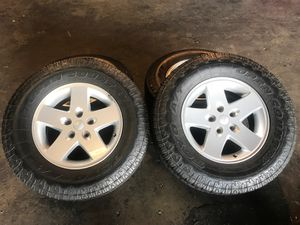 "Jeep Wrangler set. 17"" for Sale in Cartersville, GA"