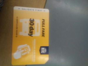 30 day bus pass new 50$ for Sale in Las Vegas, NV