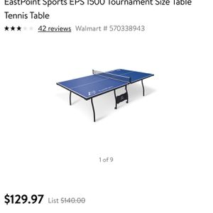 Ping pong table EPS 1500 Brand new in box never used for Sale in Humble, TX
