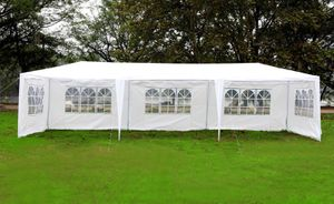 MCombo 10'x30' White Canopy Party Outdoor Gazebo Wedding Tent Removable Walls for Sale in Montebello, CA