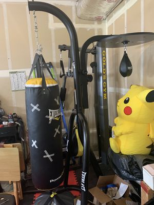 Full Gym & Heavy bag set for Sale in Tacoma, WA