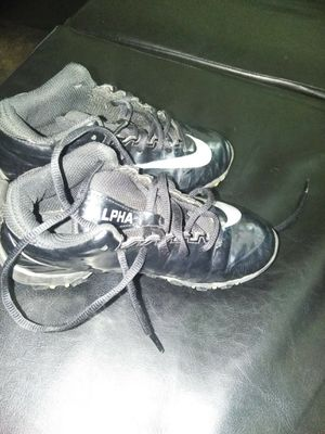 Boys football cleats 1y $25 for Sale in Cleveland, OH