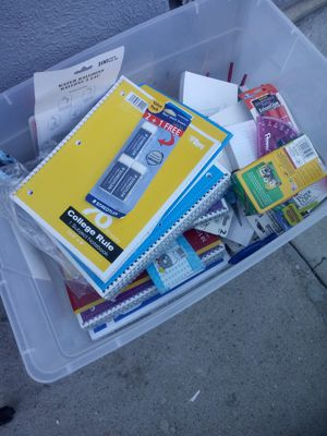 School suplies 2 for$1 for Sale in Fontana, CA
