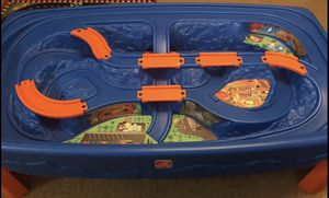 Step2 Hot Wheels Table with Case of Cars for Sale in Disputanta, VA